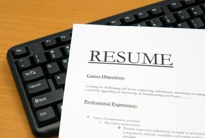 Writing Your Resume | What Formatting Errors Should You Avoid?