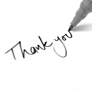 Thank You Notes: Do They Make a Difference?